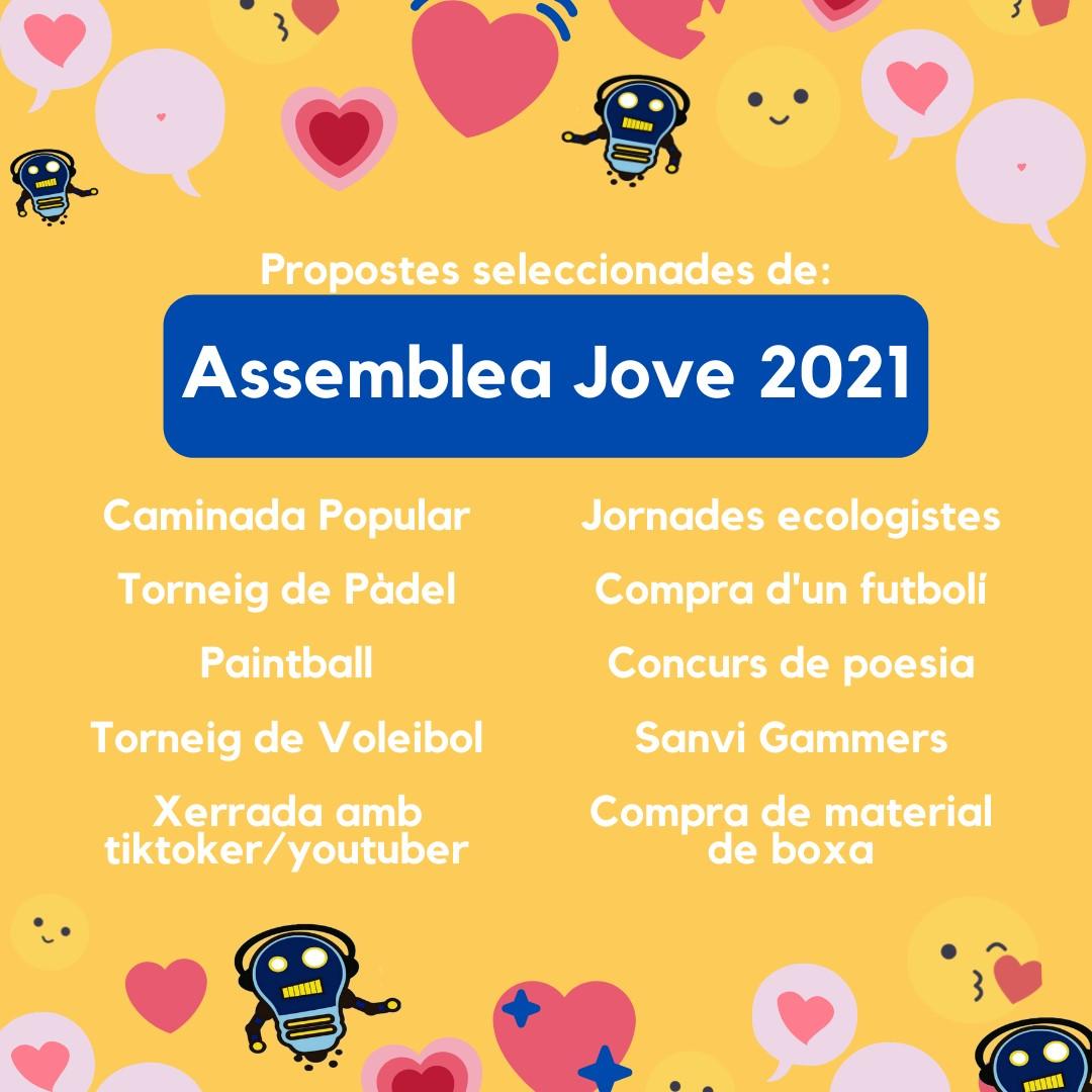 Assemblea Jove 2021